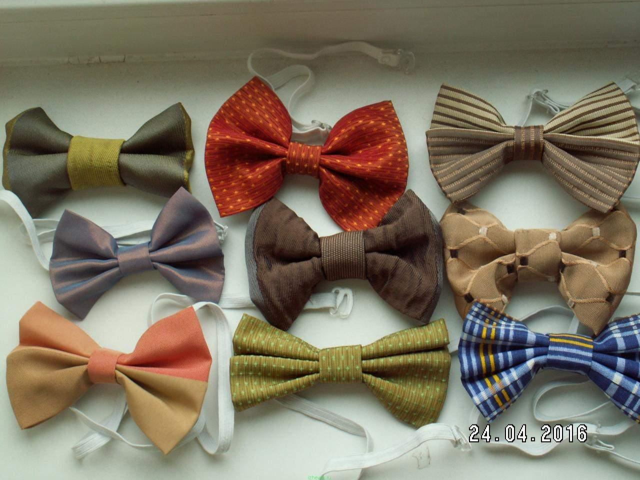 Как сделать галстук на резинке