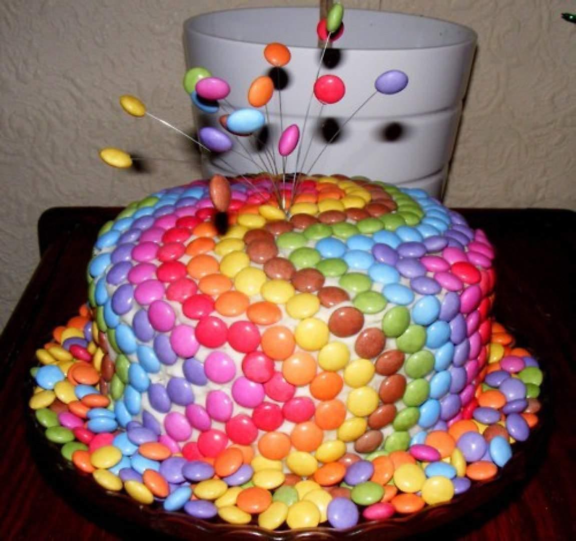 Как украсить торт на день рождения девочки своими руками