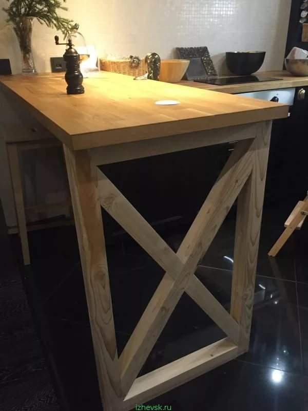 Как сделать выше стол 58