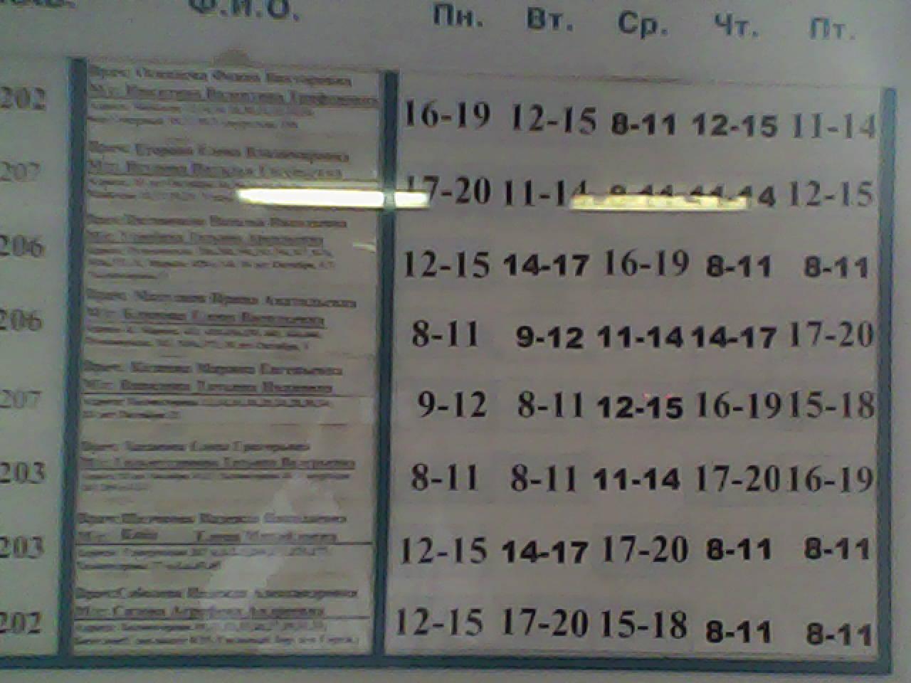 Номер регистратуры 4 городской поликлиники