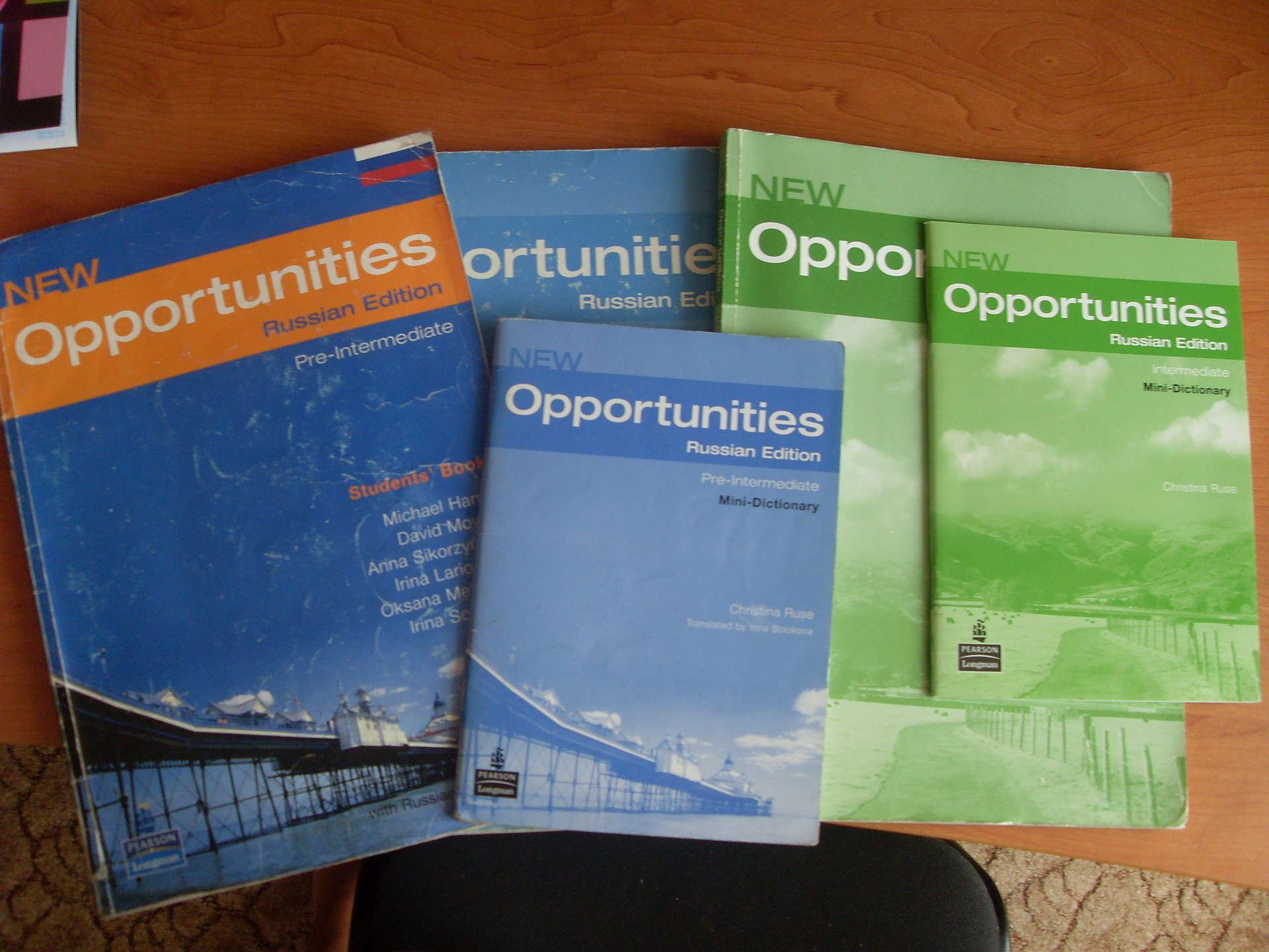 гдз по английскому языку opportunities russian edition рабочая