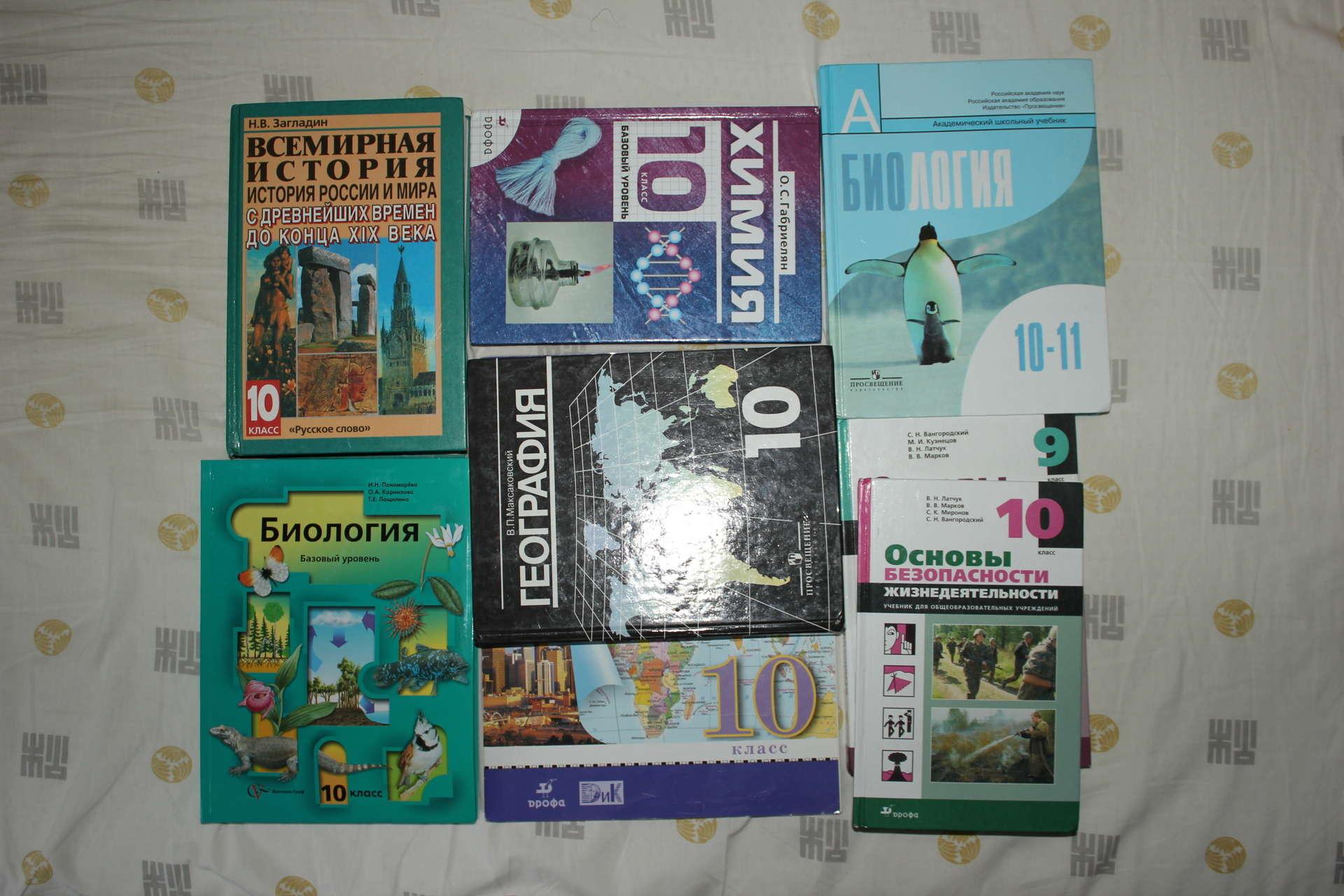 учебник географии за 10 11 класс кузнецова