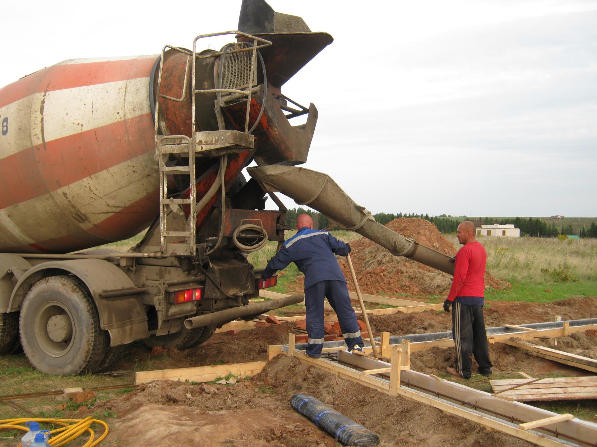 миксер бетона для фундамента цена