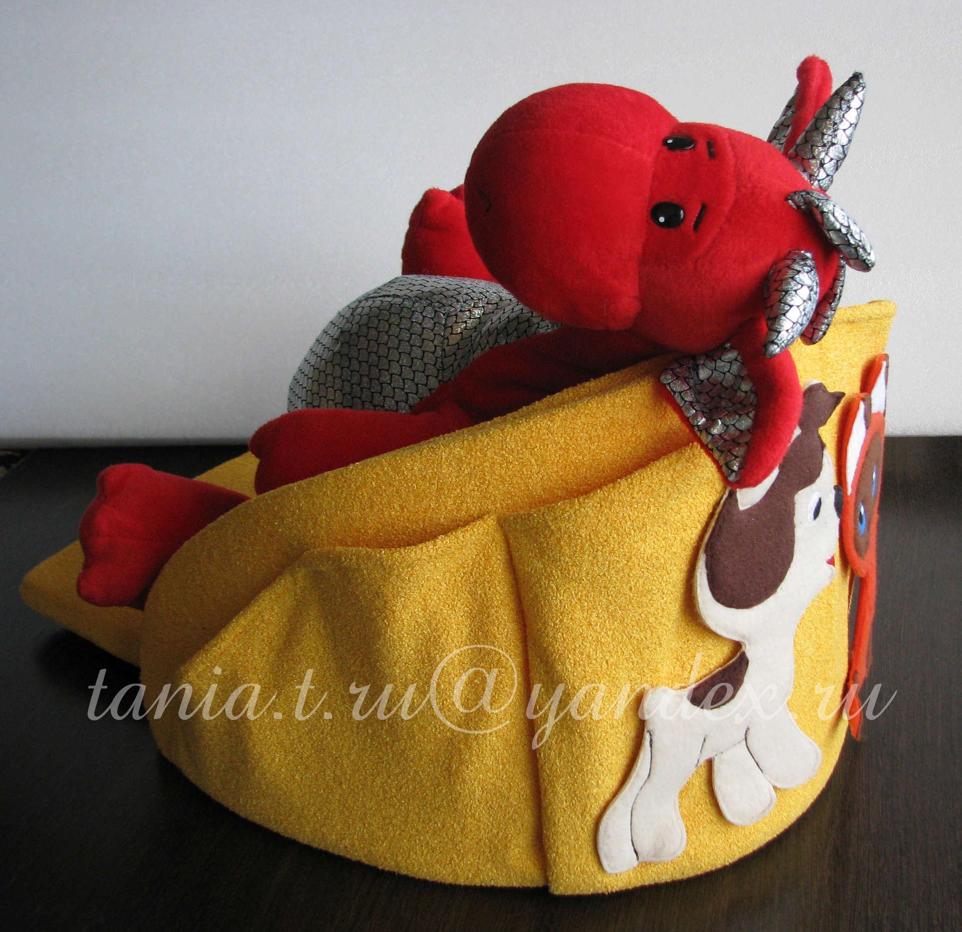 подушка санки