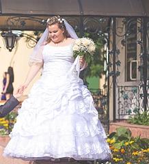 Платье свадебное 56 размер