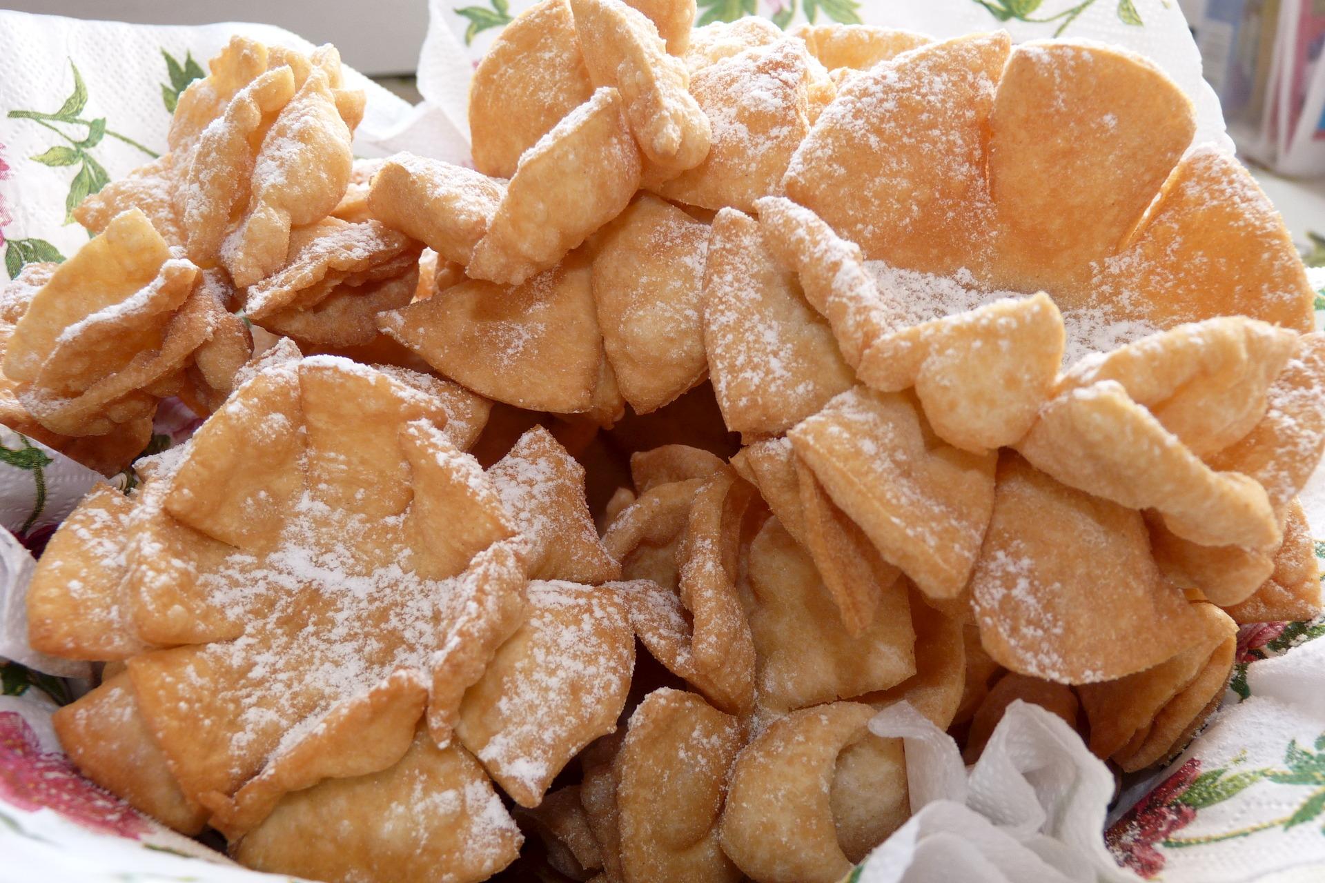 крупные хворост в виде цветка рецепты с фото готовый бисквит