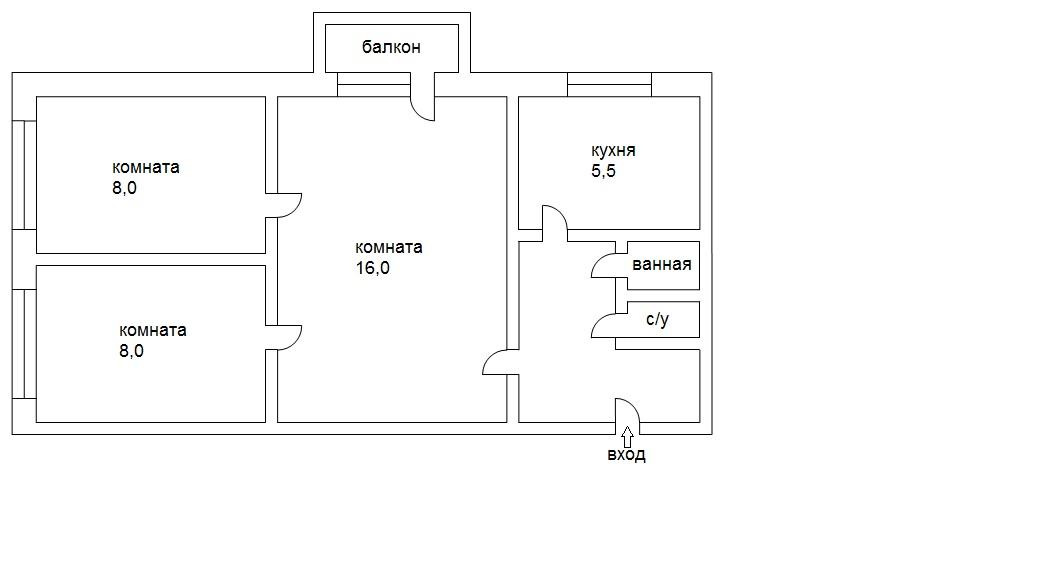 Помогите оценить квартиру... : жилье.
