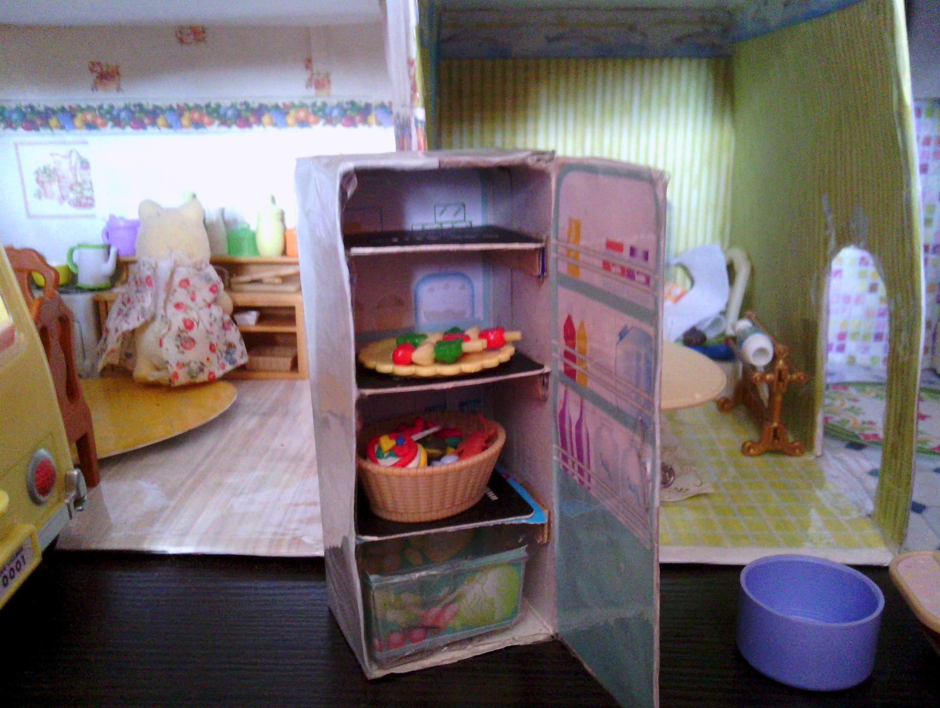Мебель из коробок своими руками для детей фото 211