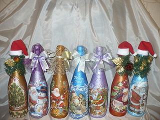 1920 X 1440 824.7 Kb Полезные подарки. (Декор новогодних бытылочек, топиарии,кофейные деревья, часы)