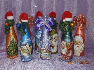 1920 X 1440 389.7 Kb Полезные подарки. (Декор новогодних бытылочек, топиарии,кофейные деревья, часы)