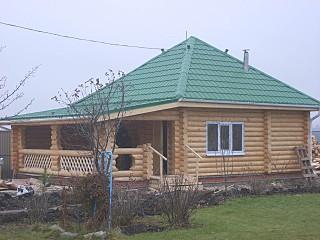 640 X 480 82.3 Kb Дома и Срубы изпрофилированного бруса и оцилиндрованного бревна