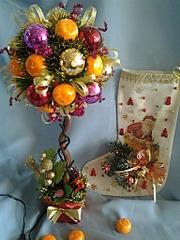 1536 X 2048 316.2 Kb Полезные подарки. (Декор новогодних бытылочек, топиарии,кофейные деревья, часы)