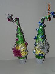 1920 X 2560 877.6 Kb Полезные подарки. (Декор новогодних бытылочек, топиарии,кофейные деревья, часы)