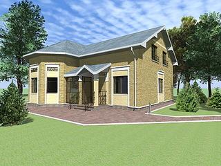 1920 X 1440 492.1 Kb Проекты уютных загородных домов