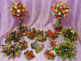 1920 X 1440 425.3 Kb Полезные подарки. (Декор новогодних бытылочек, топиарии,кофейные деревья, часы)
