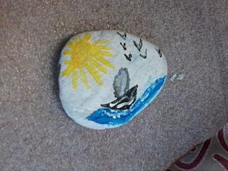 640 X 480 63.1 Kb Пушистые камни. Роспись на камне. Оригинальные подарки и сувениры.