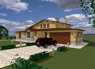 1200 X 874 983.0 Kb Проекты уютных загородных домов