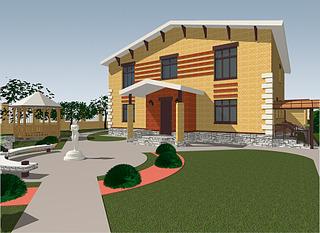 1920 X 1399 916.3 Kb Проекты уютных загородных домов