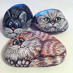 604 X 604 104.7 Kb 604 X 604 93.2 Kb 604 X 604 123.2 Kb Пушистые камни. Роспись на камне. Оригинальные подарки и сувениры.