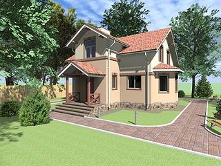 1920 X 1440 473.1 Kb Проекты уютных загородных домов