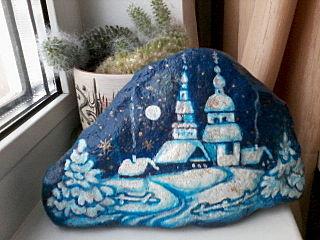640 X 480 58.9 Kb 640 X 480 63.1 Kb Пушистые камни. Роспись на камне. Оригинальные подарки и сувениры.