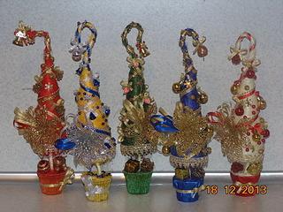 1920 X 1440 847.3 Kb Полезные подарки. (Декор новогодних бытылочек, топиарии,кофейные деревья, часы)