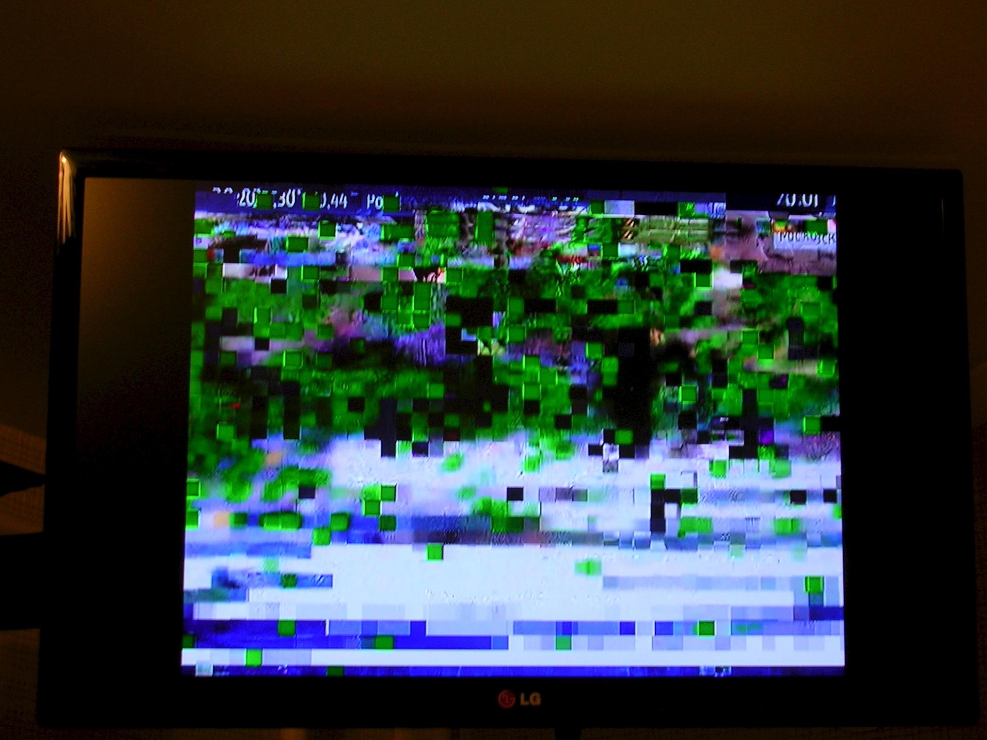 распадается картинка на телевизоре предметная
