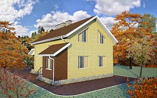1920 X 1200 668.8 Kb Проекты уютных загородных домов