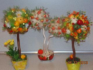 1920 X 1440 498.5 Kb Полезные подарки. (Декор новогодних бытылочек, топиарии,кофейные деревья, часы)