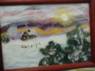 1280 X 960 159.7 Kb Студия рукоделия 'ЛЮДМИЛА' приглашает на МК 18января - Зимний пейзаж из шерсти!