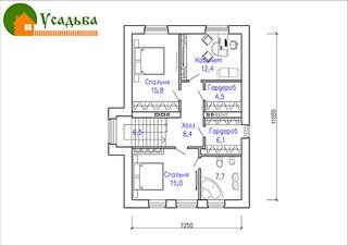 990 X 700 194.7 Kb 990 X 700 219.1 Kb Проекты уютных загородных домов