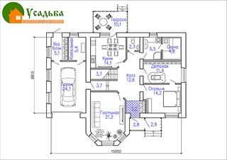 990 X 700 205.5 Kb Проекты уютных загородных домов