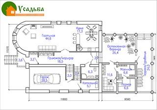 990 X 700 239.1 Kb Проекты уютных загородных домов