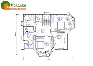 990 X 700 167.1 Kb 990 X 700 187.6 Kb Проекты уютных загородных домов