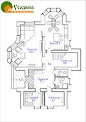 700 X 990 193.7 Kb Проекты уютных загородных домов