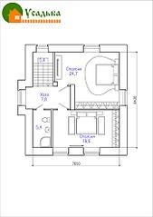 700 X 990 125.0 Kb 700 X 990 148.1 Kb Проекты уютных загородных домов