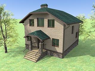 933 X 700 776.8 Kb Проекты уютных загородных домов
