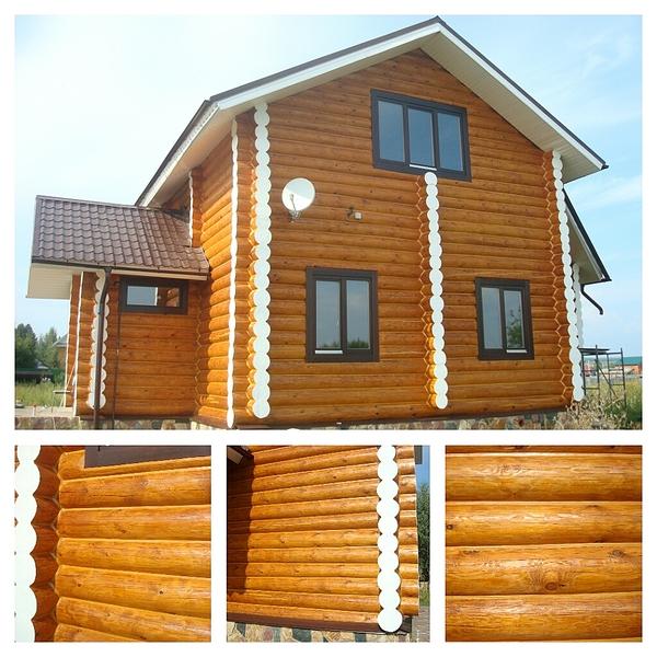 1024 X 1024 715.3 Kb Отделка деревянных домов: шлифовка,покраска,конопатка,теплый шов (фото каждый день).