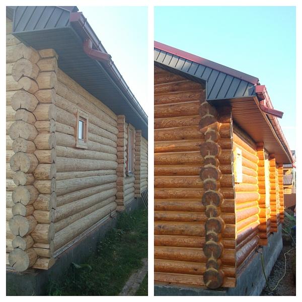 1024 X 1024 614.3 Kb Отделка деревянных домов: шлифовка,покраска,конопатка,теплый шов (фото каждый день).