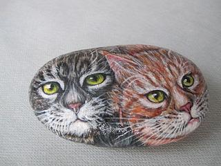 1920 X 1440 609.4 Kb Пушистые камни. Роспись на камне. Мастер-классы .Оригинальные подарки и сувениры.