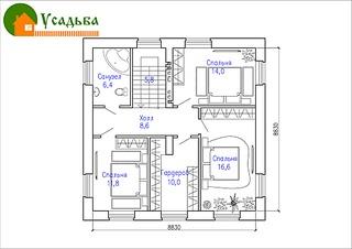 990 X 700 168.3 Kb Проекты уютных загородных домов