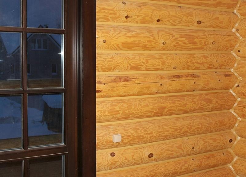 880 X 635 357.0 Kb Отделка деревянных домов: шлифовка,покраска,конопатка,теплый шов (фото).