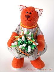 1200 X 1600 144.0 Kb Весенние коты и киски. Куклы и игрушки Светланы Емельяновой