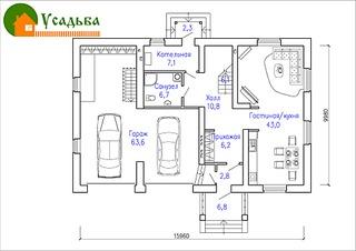 990 X 700 227.5 Kb Проекты уютных загородных домов