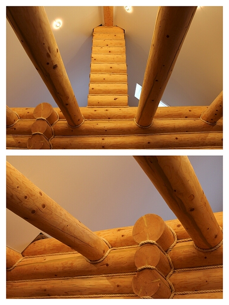 768 X 1024 452.1 Kb Отделка деревянных домов: шлифовка,покраска,конопатка,теплый шов (фото).
