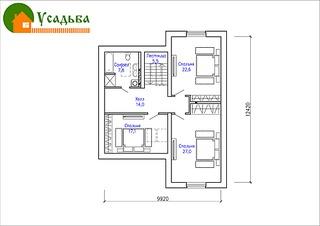 990 X 700 136.9 Kb 990 X 700 181.0 Kb Проекты уютных загородных домов