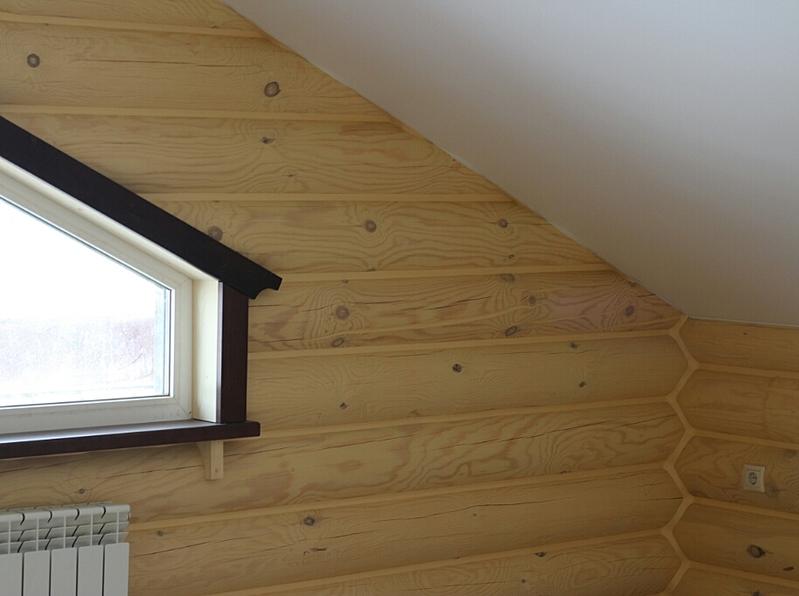 914 X 682 297.6 Kb Отделка деревянных домов: шлифовка,покраска,конопатка,теплый шов (фото).