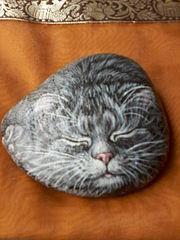 480 X 640 64.7 Kb Пушистые камни. Роспись на камне. Мастер-классы .Оригинальные подарки и сувениры.