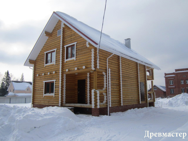 640 x 480 Строительство деревянных домов и бань ( фото)