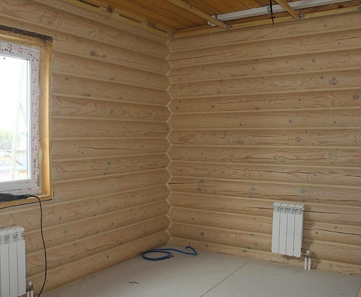 772 X 635 293.6 Kb Отделка деревянных домов: шлифовка,покраска,конопатка,теплый шов (фото).